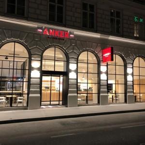Anker Neugestaltung designed by Bruni